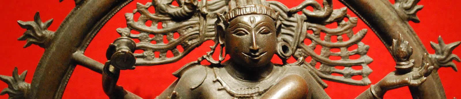 Detail of a statue in the Ashmolean Museum.  (Image credit: Richard Watts).