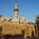 The church under the Mosque of Abu el-Haggag in the Court of Ramesses II, Luxor