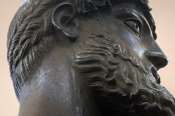 Cast of a bronze statue in the Ashmolean Museum (Image Credit: The Cast Gallery, Ashmolean Museum)
