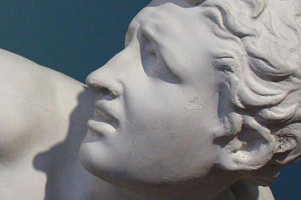 Detail of a statue in the Ashmolean Museum. (Image credit: Richard Watts)