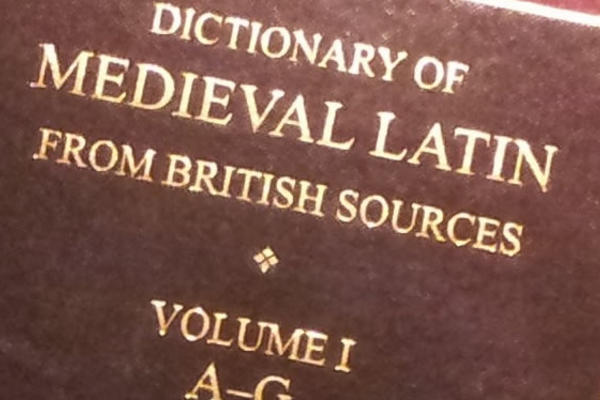 The Dictionary of Medieval Latin from British Sources