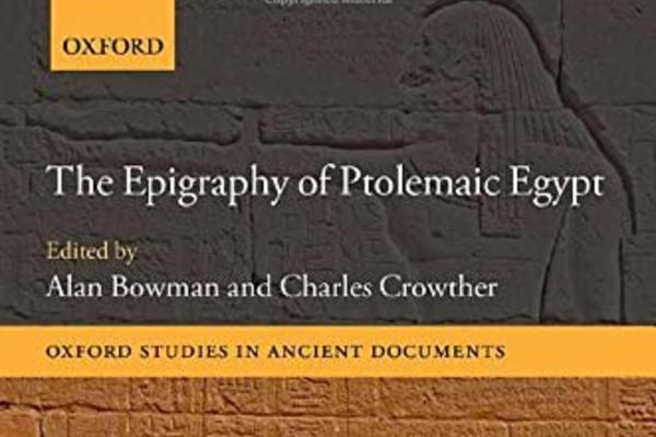 epigraphy of ptolemaic egypt list