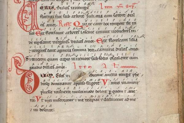munich bayerische staatsbibliothek clm 4660 codex buranus fol 64r