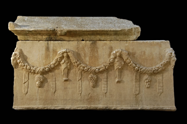 sarcophagus at aphrodisias