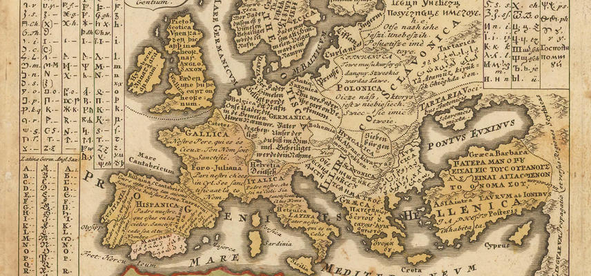 europe map lingua1400