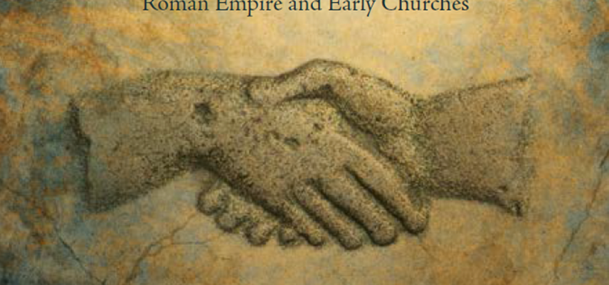 Detail of the reverse of a Roman coin of Faustina I, mid-second century CE: clasped hands symbolizing fides. Courtesty of the National Coin Collection, Munich. Photographer: Nicolai Kästner.